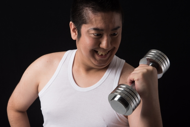 姿勢と筋量